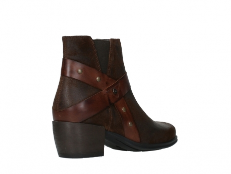 wolky ankle boots 02875 silio 45410 tobacco suede_22