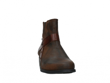 wolky ankle boots 02875 silio 45410 tobacco suede_6