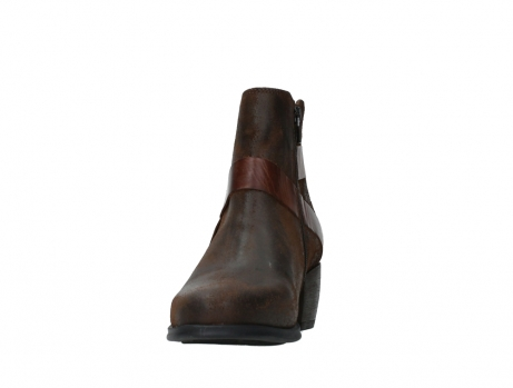 wolky ankle boots 02875 silio 45410 tobacco suede_8