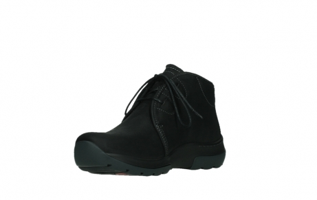 wolky lace up boots 03025 dub 11001 black nubuck_10