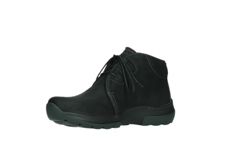 wolky lace up boots 03025 dub 11001 black nubuck_11