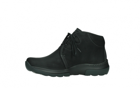 wolky lace up boots 03025 dub 11001 black nubuck_12