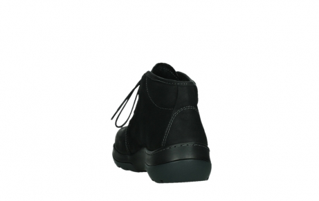 wolky lace up boots 03025 dub 11001 black nubuck_18