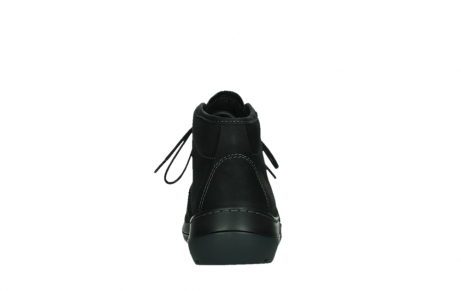 wolky lace up boots 03025 dub 11001 black nubuck_19