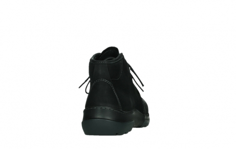 wolky lace up boots 03025 dub 11001 black nubuck_20