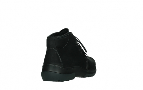 wolky lace up boots 03025 dub 11001 black nubuck_21