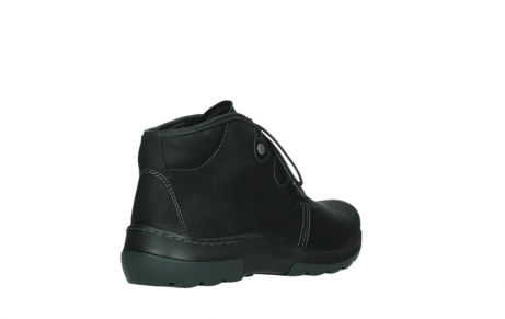 wolky lace up boots 03025 dub 11001 black nubuck_22