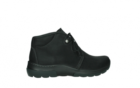 wolky lace up boots 03025 dub 11001 black nubuck_24