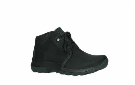 wolky lace up boots 03025 dub 11001 black nubuck_3