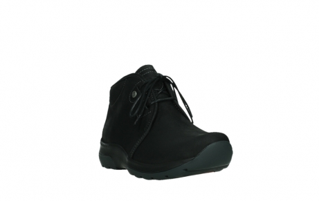 wolky lace up boots 03025 dub 11001 black nubuck_5