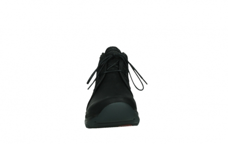 wolky lace up boots 03025 dub 11001 black nubuck_7