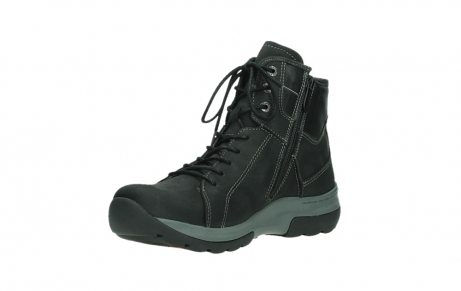 wolky lace up boots 03026 ambient 11000 black nubuck_10