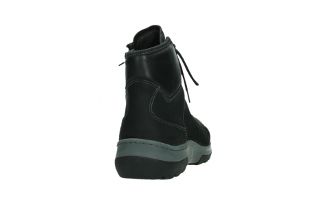 wolky lace up boots 03026 ambient 11000 black nubuck_20