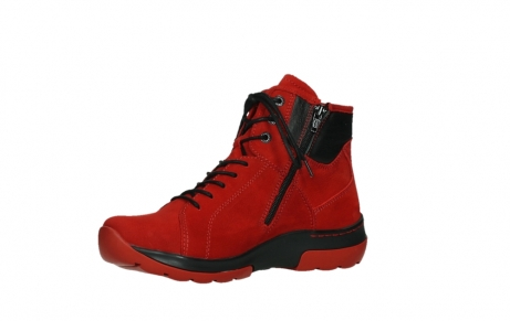 wolky lace up boots 03026 ambient 11505 darkred nubuckleather_11
