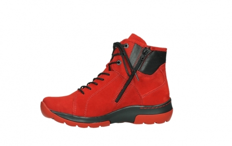 wolky lace up boots 03026 ambient 11505 darkred nubuckleather_12