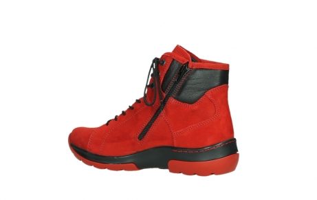 wolky lace up boots 03026 ambient 11505 darkred nubuckleather_15