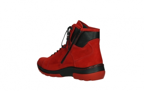 wolky lace up boots 03026 ambient 11505 darkred nubuckleather_16