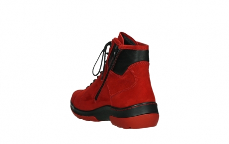 wolky lace up boots 03026 ambient 11505 darkred nubuckleather_17
