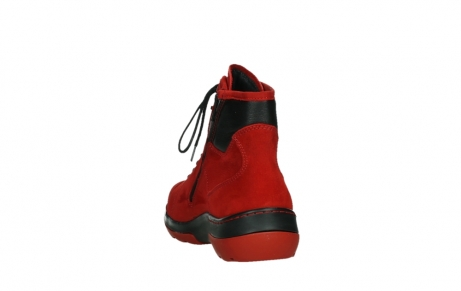 wolky lace up boots 03026 ambient 11505 darkred nubuckleather_18