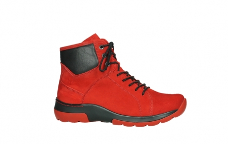 wolky lace up boots 03026 ambient 11505 darkred nubuckleather_2