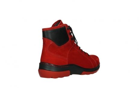 wolky lace up boots 03026 ambient 11505 darkred nubuckleather_22
