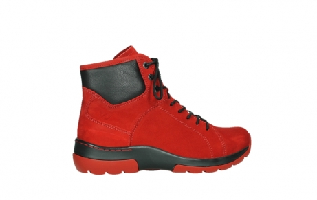 wolky lace up boots 03026 ambient 11505 darkred nubuckleather_24
