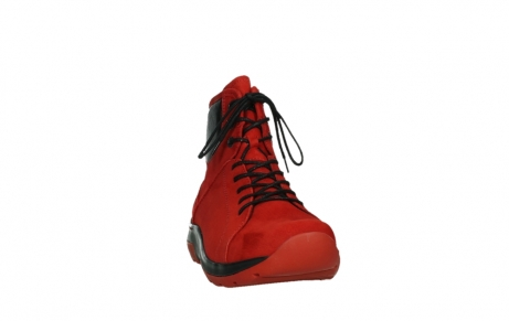wolky lace up boots 03026 ambient 11505 darkred nubuckleather_6