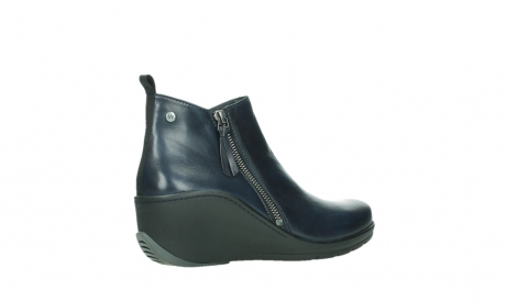 wolky ankle boots 03875 anvik 30800 blue leather_23