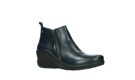 wolky ankle boots 03875 anvik 30800 blue leather_3