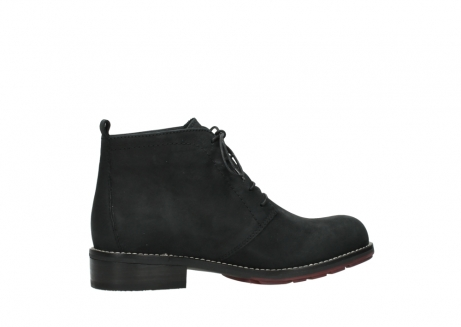 wolky ankle boots 04443 fairy 11000 black nubuck_12
