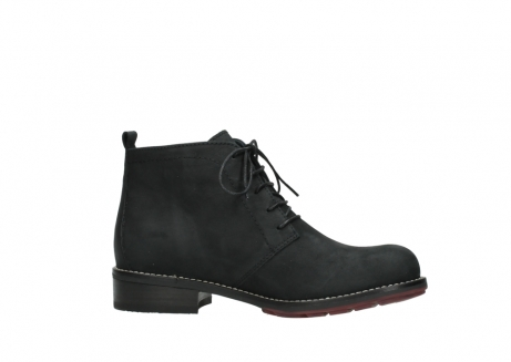 wolky ankle boots 04443 fairy 11000 black nubuck_14