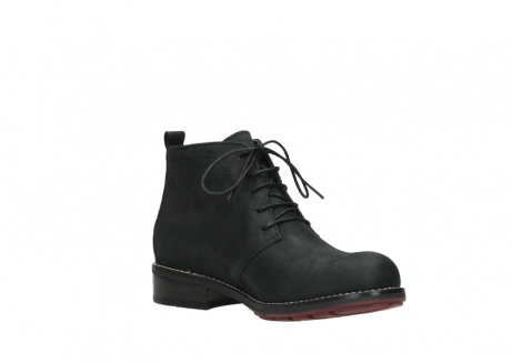 wolky ankle boots 04443 fairy 11000 black nubuck_16