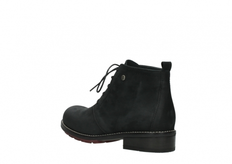 wolky ankle boots 04443 fairy 11000 black nubuck_4