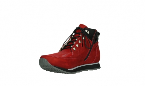 wolky lace up boots 05808 e funk 11505 darkred stretchleather_10