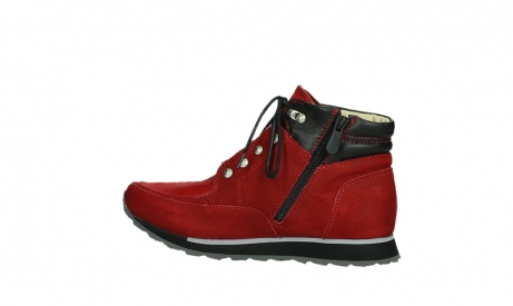 wolky lace up boots 05808 e funk 11505 darkred stretchleather_14