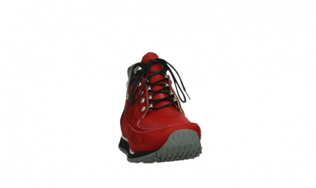 wolky lace up boots 05808 e funk 11505 darkred stretchleather_6