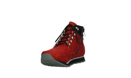 wolky lace up boots 05808 e funk 11505 darkred stretchleather_9