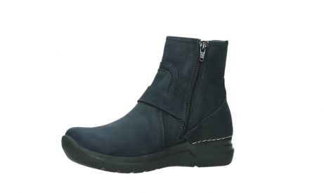 wolky ankle boots 06611 okay 11800 blue nubuck_11