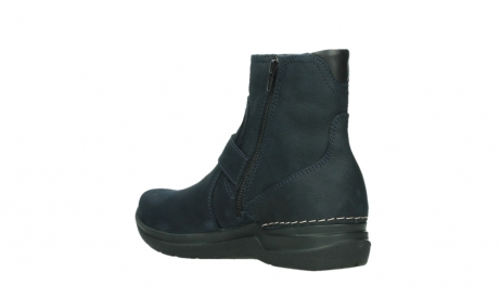 wolky ankle boots 06611 okay 11800 blue nubuck_16