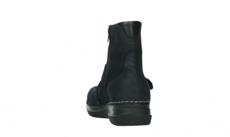 wolky ankle boots 06611 okay 11800 blue nubuck_18