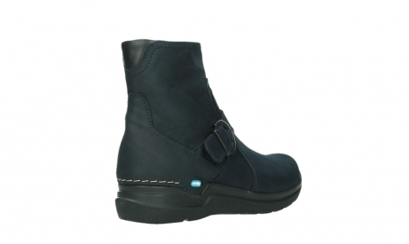wolky ankle boots 06611 okay 11800 blue nubuck_22