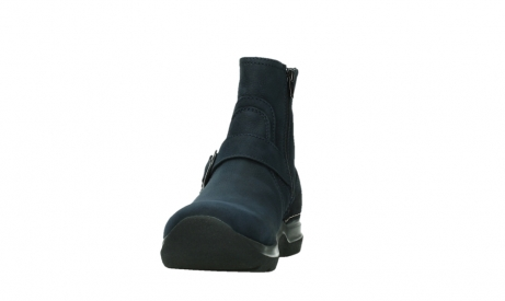 wolky ankle boots 06611 okay 11800 blue nubuck_8
