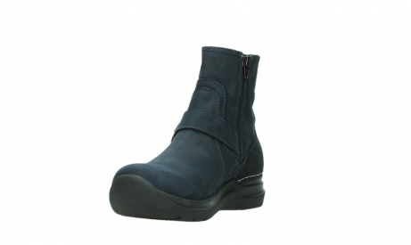 wolky ankle boots 06611 okay 11800 blue nubuck_9