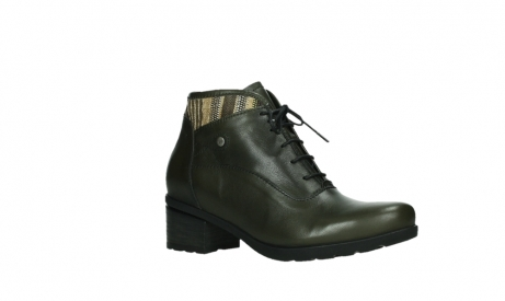 wolky ankle boots 07500 canton 29730 forestgreen leather_3
