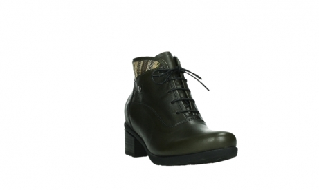 wolky ankle boots 07500 canton 29730 forestgreen leather_5