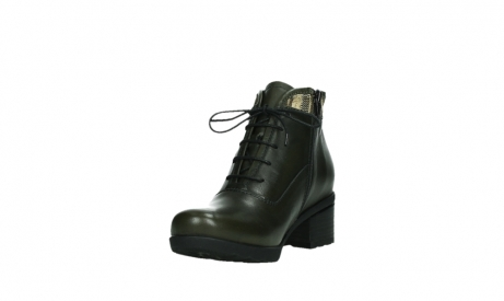 wolky ankle boots 07500 canton 29730 forestgreen leather_9