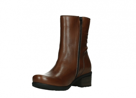 wolky ankle boots 07501 skytree 20430 cognac leather_10