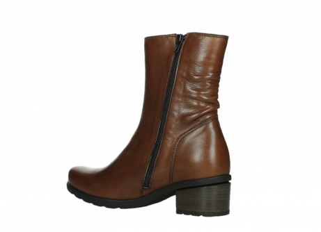 wolky ankle boots 07501 skytree 20430 cognac leather_15