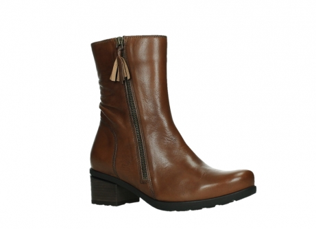 wolky ankle boots 07501 skytree 20430 cognac leather_3