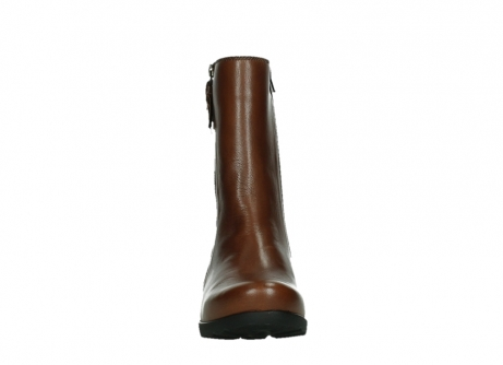 wolky mid calf boots 07501 skytree 20430 cognac leather_7